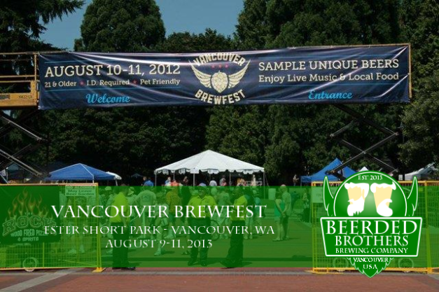 Vancouver Brew Festival Annoucement - Beerded Brothers Brewing